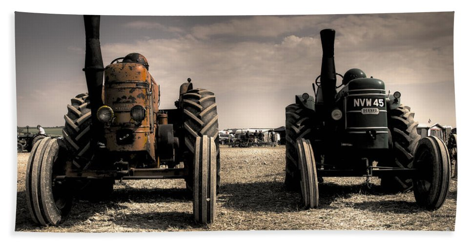Field Hand Towel featuring the photograph The Field Marshall's by Rob Hawkins