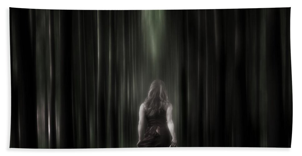 Woman Hand Towel featuring the photograph The Forest by Joana Kruse