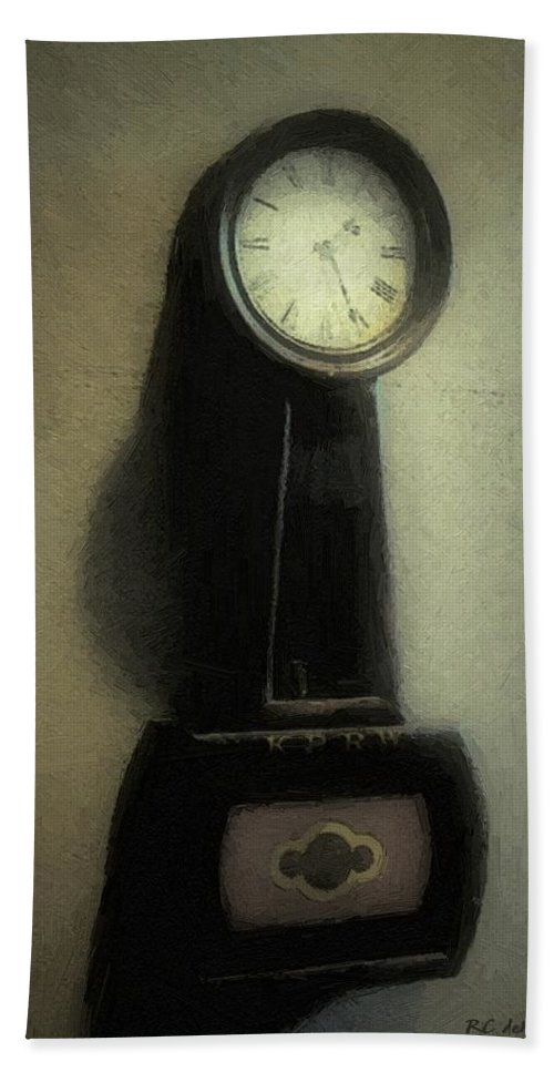 Antique Hand Towel featuring the painting The Forgiveness Of Time by RC DeWinter