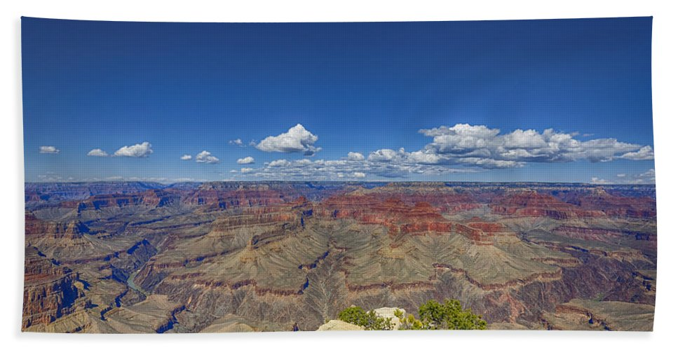 Grand Canyon Hand Towel featuring the photograph The Grand Canyon--another Look by Angela Stanton