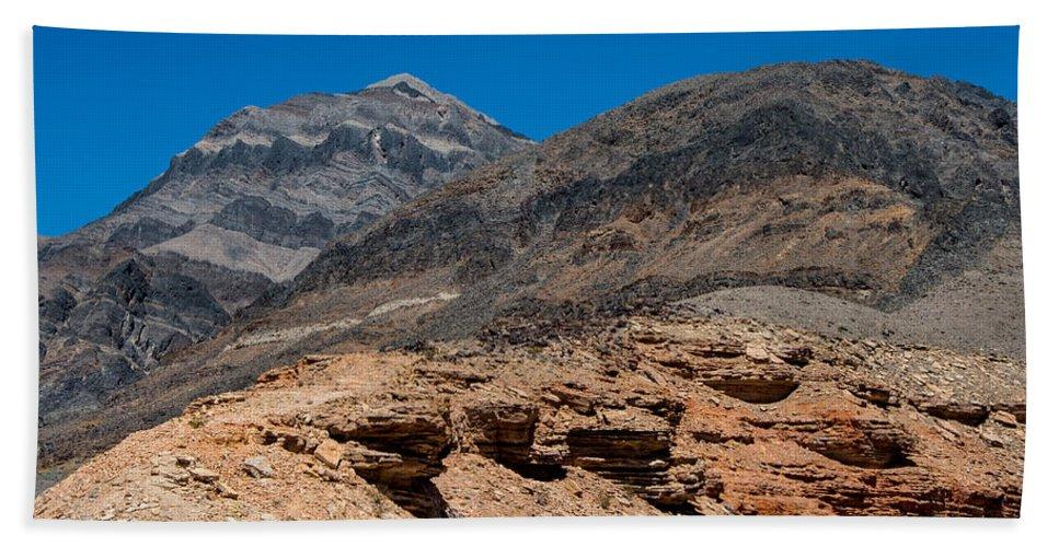 Death Valley Bath Sheet featuring the photograph The Hillside by Stephen Whalen