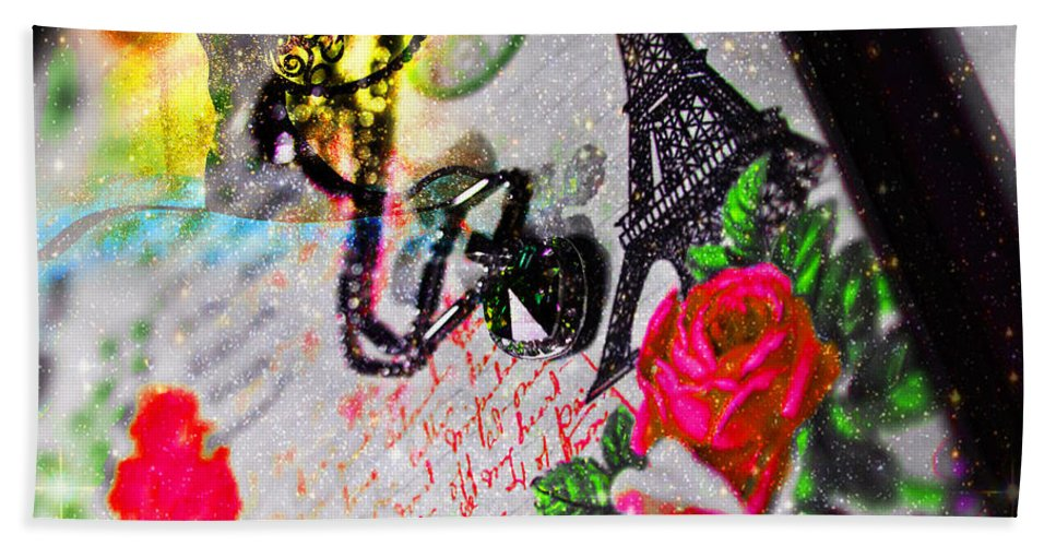 Love Hand Towel featuring the photograph The New Love Story Birthday by Alex Art and Photo