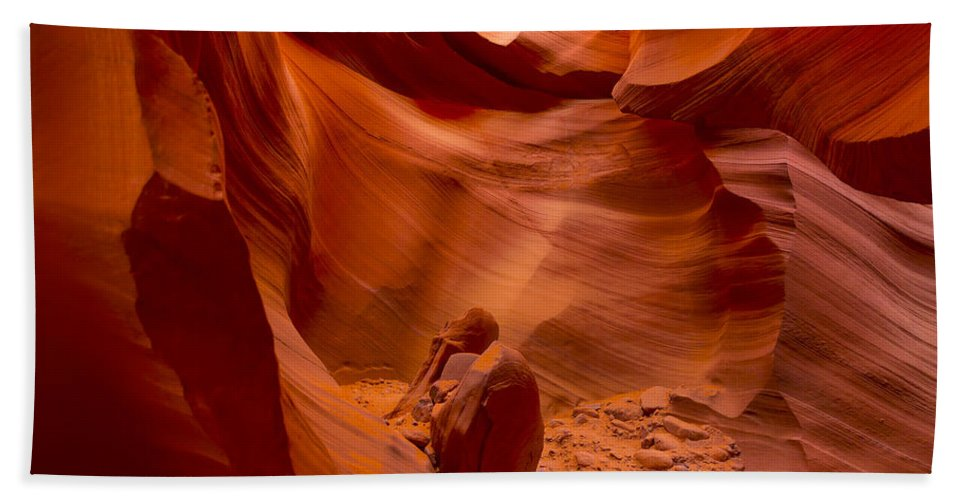 5 Canyons Hand Towel featuring the photograph The Old Man Of The Canyons by Angela Stanton