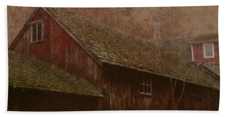 The Old Mill Bath Sheet featuring the photograph The Old Mill by Photographic Arts And Design Studio
