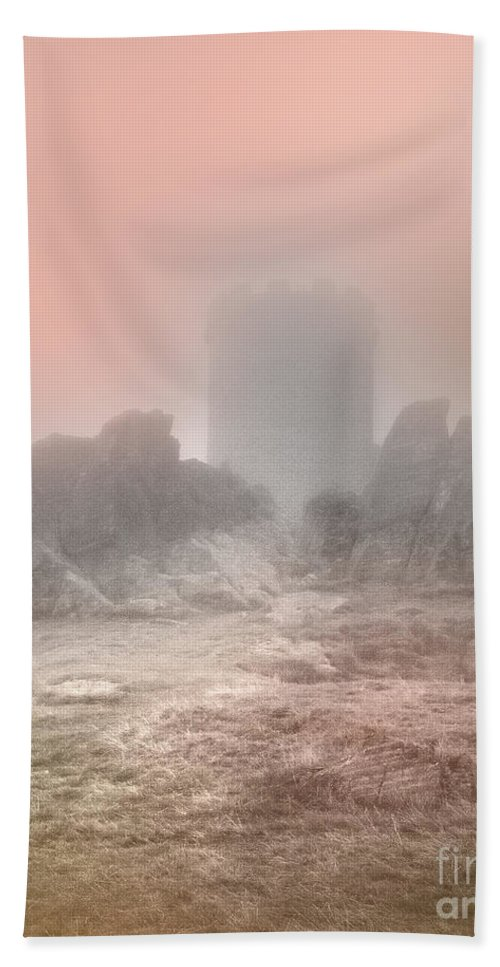 Turrets Bath Sheet featuring the photograph The One Tower by Linsey Williams