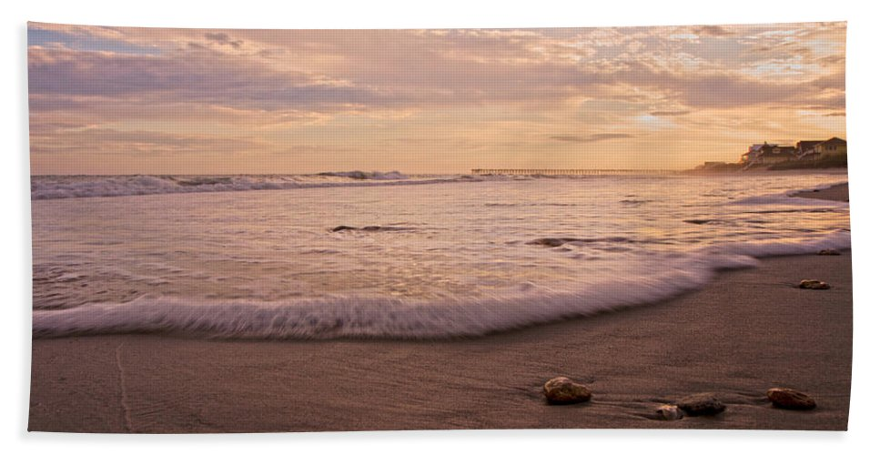 Topsail Hand Towel featuring the photograph The Pace Of Topsail by Betsy Knapp