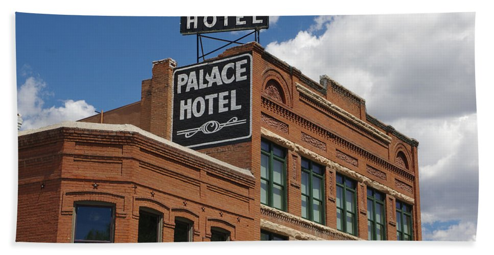 Colorado Photographs Bath Sheet featuring the photograph The Palace by Gary Benson