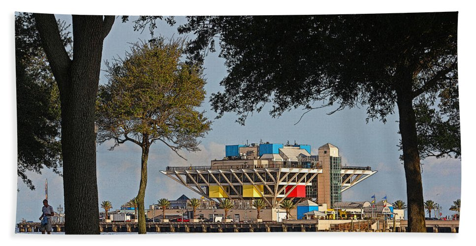 Hh Photography Of Florida Hand Towel featuring the photograph The Pier - St. Petersburg Fl by HH Photography of Florida