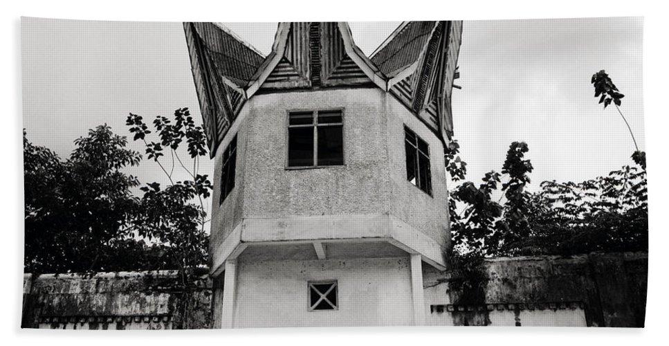 Asia Bath Sheet featuring the photograph The Pudu Prison by Shaun Higson