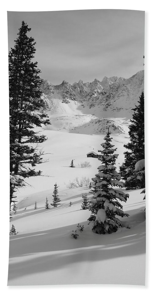 Colorado Hand Towel featuring the photograph The Quiet Season by Eric Glaser