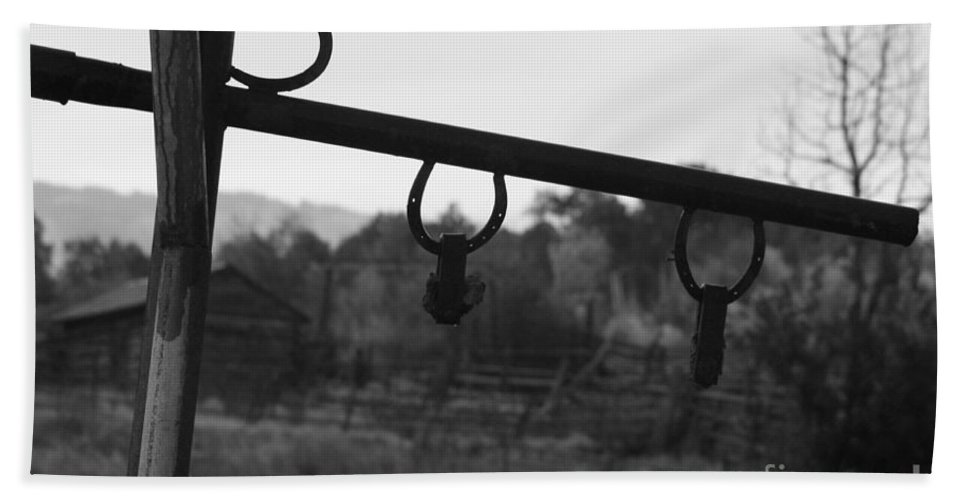Western Bath Sheet featuring the photograph The Ranch by Brandi Maher