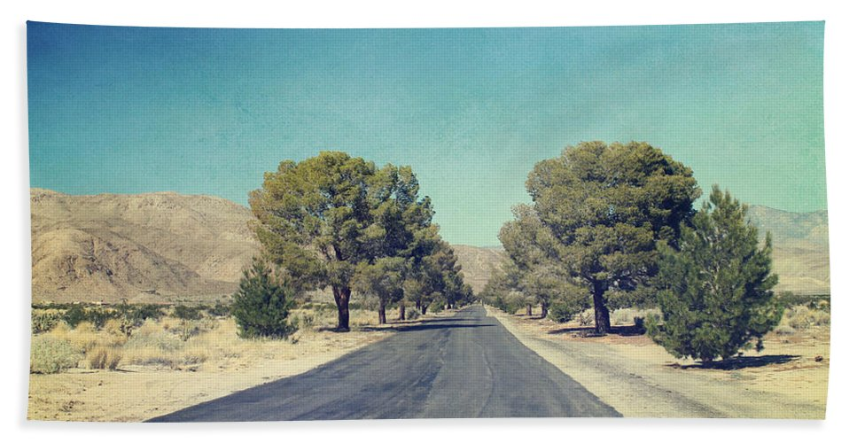 Galleta Meadows Hand Towel featuring the photograph The Roads We Travel by Laurie Search
