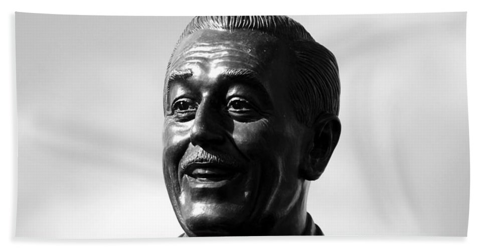 Walt Disney Hand Towel featuring the photograph The Saint Of Dreams by David Lee Thompson