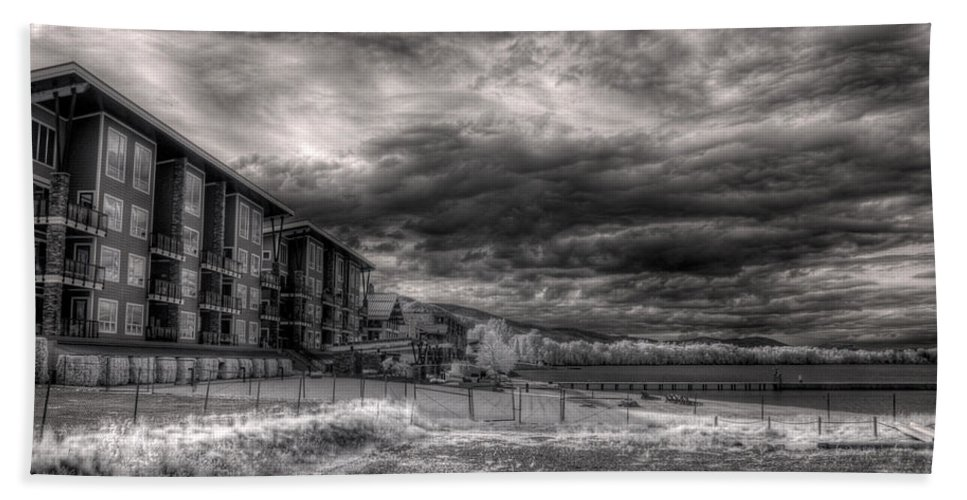 Infrared Hand Towel featuring the photograph The Seasons In Infrared 1 by Lee Santa