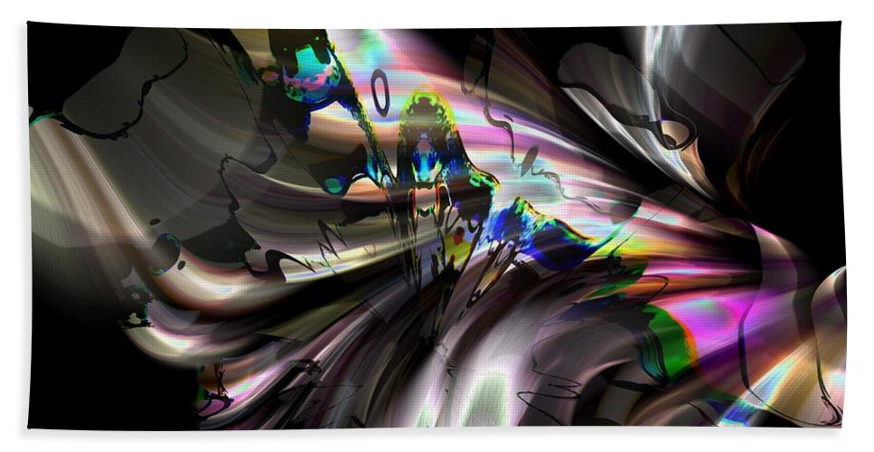 Abstract Hand Towel featuring the photograph The Summoning by Richard Thomas