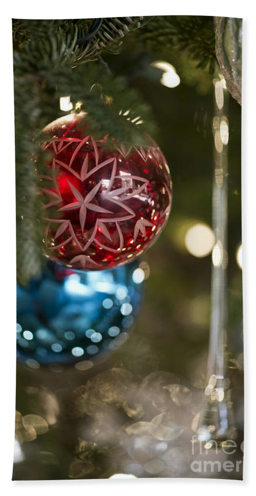 Christmas Tree Bath Sheet featuring the photograph The Tree 2012  5651 by Terri Winkler