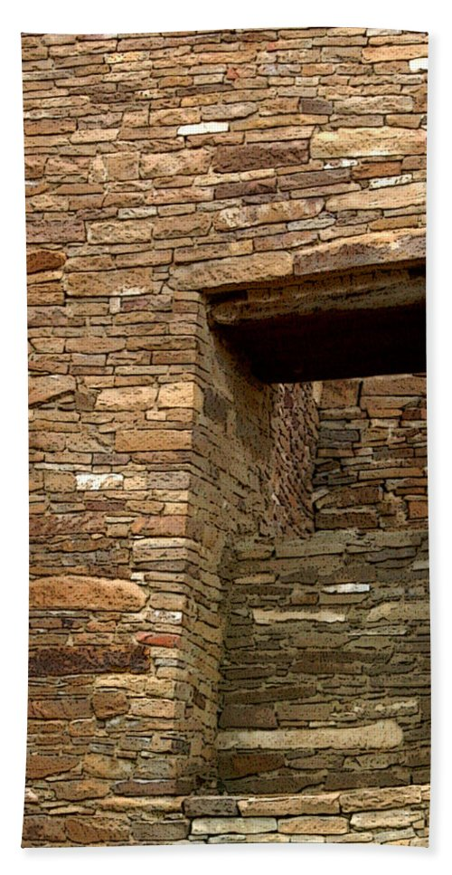 Wall Bath Sheet featuring the photograph The View by Joe Kozlowski