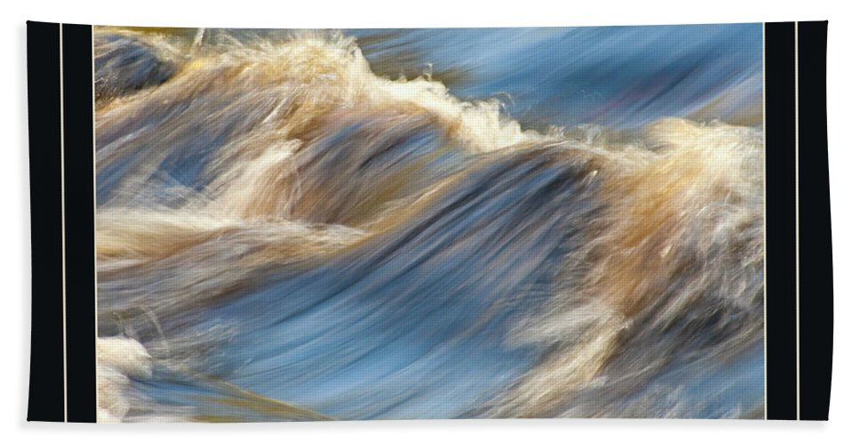 Water Hand Towel featuring the photograph The Voice Of God by Carolyn Marshall
