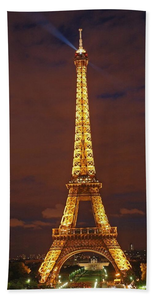 The Watchtower Bath Sheet featuring the photograph The Watchtower by George Buxbaum
