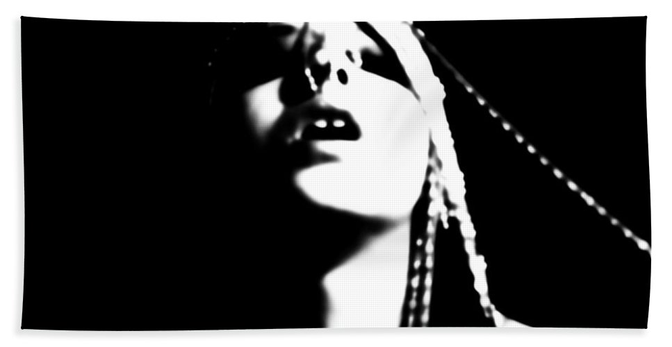 Black And White Hand Towel featuring the photograph The Zenith by Jessica Shelton