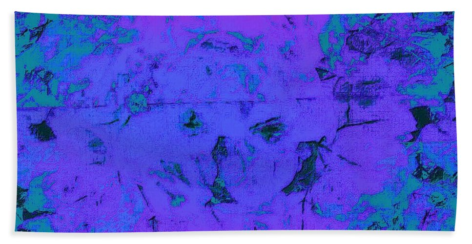 Flora Bath Sheet featuring the photograph Therapy Tea by Scott French
