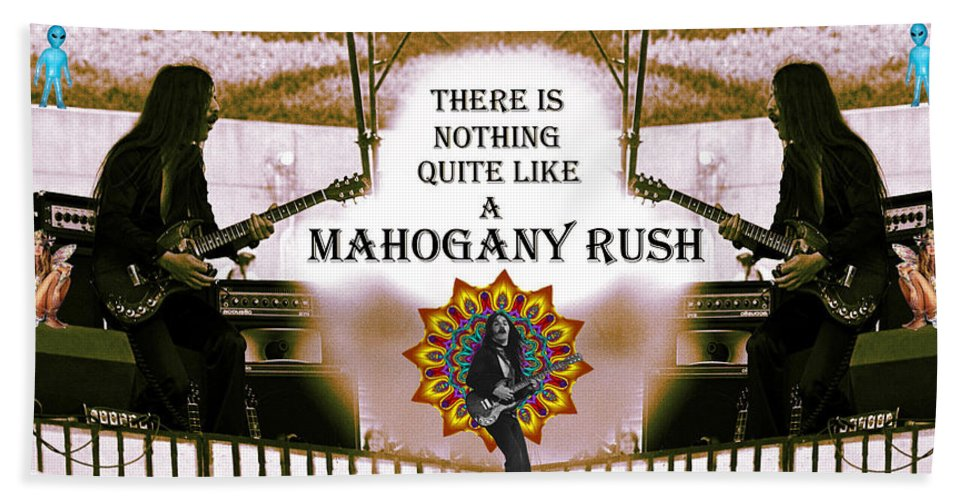 Mahogany Rush Hand Towel featuring the photograph There Is Nothing Quite Like A Mahogany Rush by Ben Upham