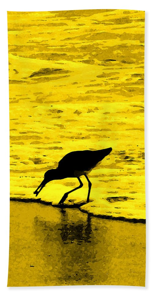 Florida Hand Towel featuring the photograph This Beach Belongs To Me by Ian MacDonald