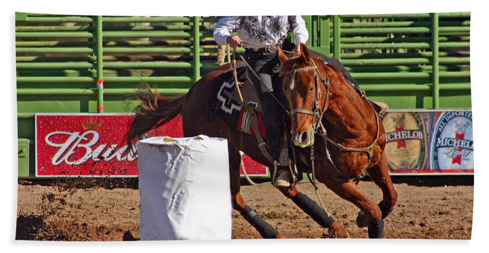 Arizona Hand Towel featuring the photograph Time To Sprint by Bob Hislop