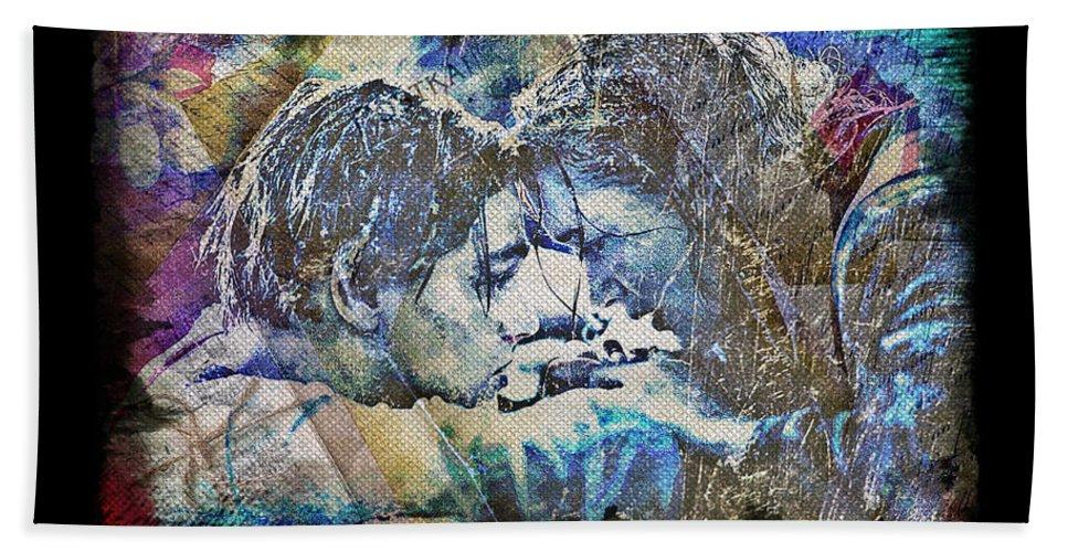Titanic Bath Sheet featuring the digital art Titanic - True Love by Absinthe Art By Michelle LeAnn Scott