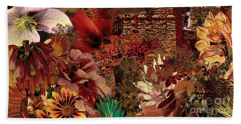 Flowers Bath Sheet featuring the digital art Torremolinos by Paul Gentille