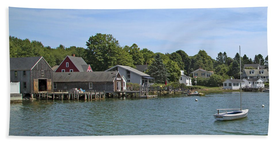 Kennebunkport Bath Sheet featuring the photograph Tranquil by Betsy Knapp