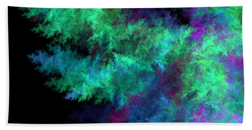 Transference Hand Towel featuring the digital art Transferance by Brainwave Pictures