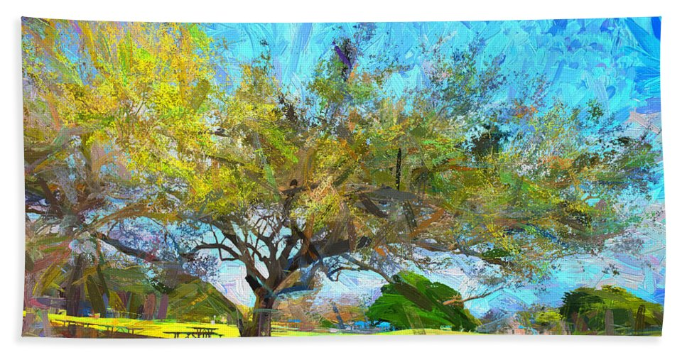 Trees Bath Sheet featuring the photograph Tree Series 64 by Carlos Diaz