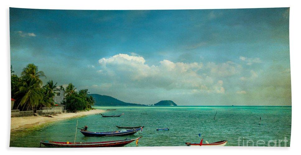 Asia Bath Sheet featuring the photograph Tropical Seas by Adrian Evans