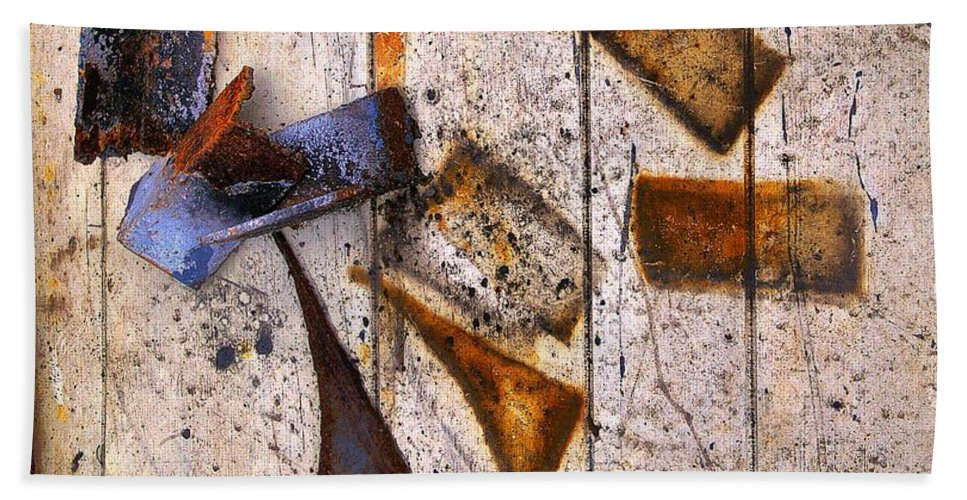 Abstract Hand Towel featuring the photograph Tumbled by Lauren Leigh Hunter Fine Art Photography