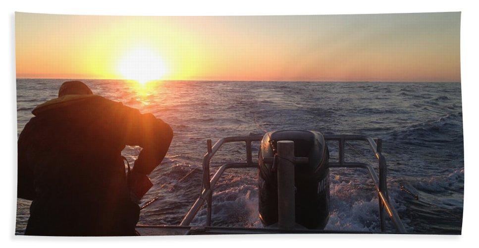 Tuna Bath Sheet featuring the photograph Tuna Trip by Sara Stevenson