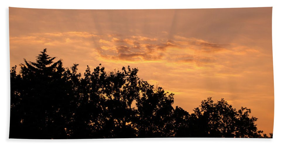 Landscape Hand Towel featuring the photograph Italian Landscape - Twilight Of The Gods 2 by Andrea Mazzocchetti