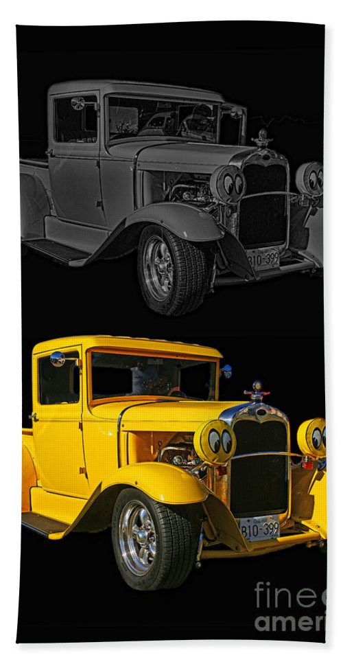 Cars Bath Sheet featuring the photograph Two Of A Kind by Randy Harris