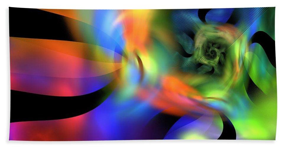 Apophysis Bath Sheet featuring the digital art Typhoon by Kim Sy Ok