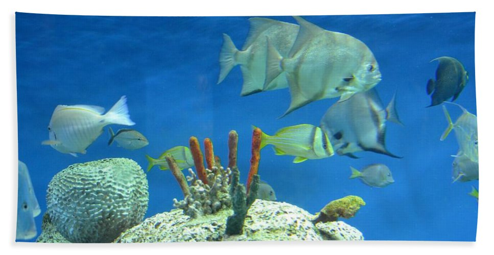 Underwater Beauty Bath Sheet featuring the photograph Underwater Beauty by Maria Urso