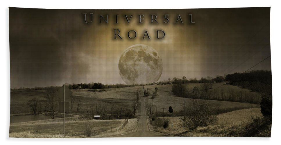 Full Hand Towel featuring the photograph Universal Road by Betsy Knapp
