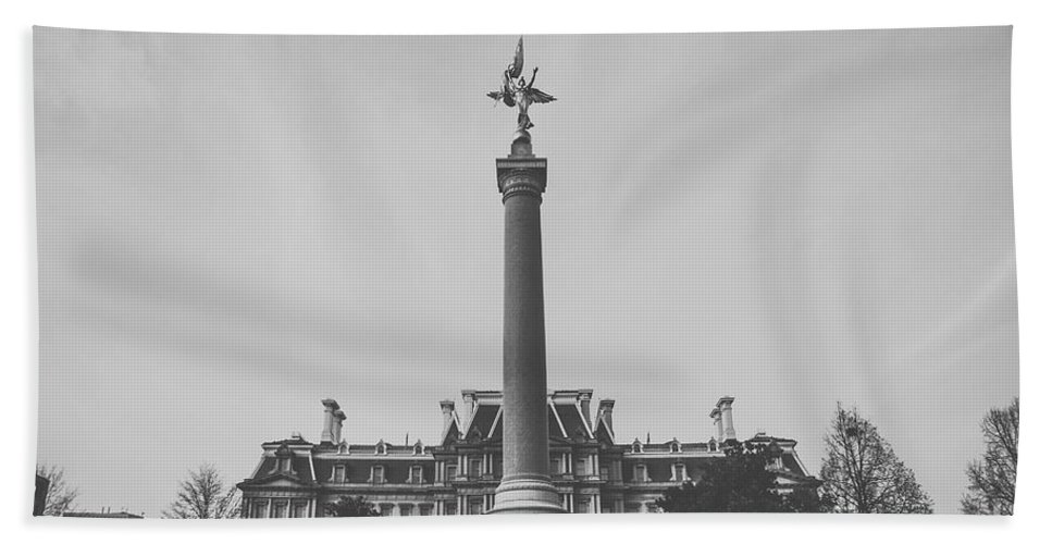Washington Dc Hand Towel featuring the photograph Untitled by Bethany Helzer
