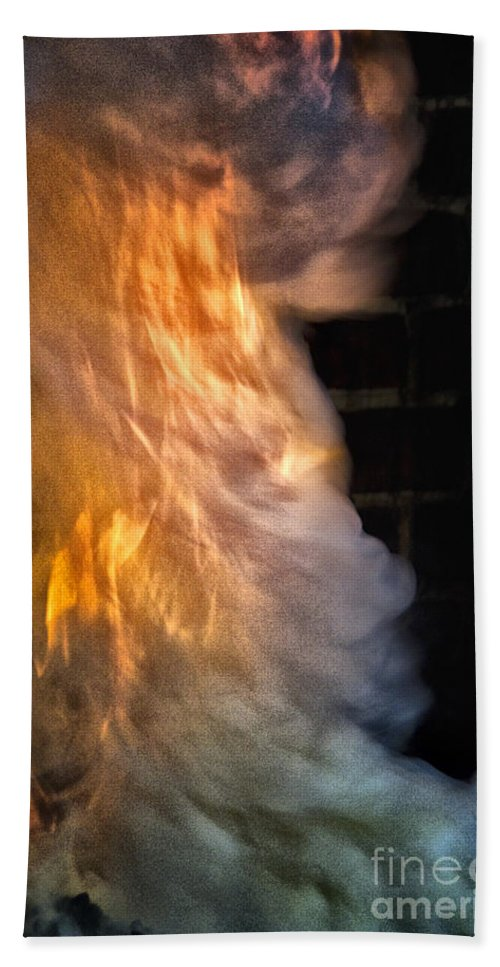Flames Bath Sheet featuring the photograph Up In Flames by Margie Hurwich