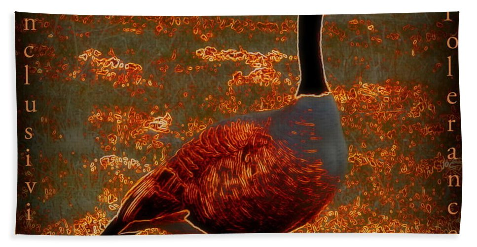 Acrylic Prints Hand Towel featuring the photograph Uplifting Messaged Art by Bobbee Rickard
