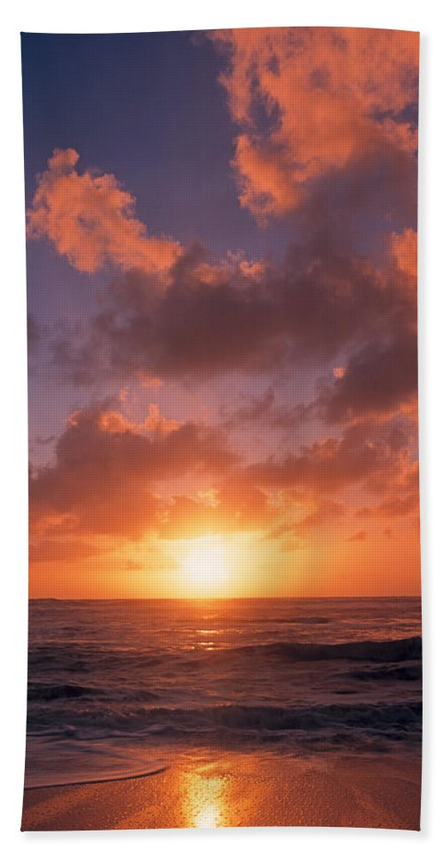 Photography Hand Towel featuring the photograph Usa, California, Pillar Point, View by Panoramic Images
