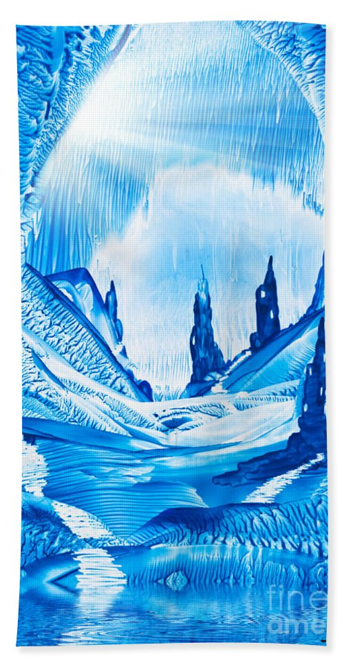 Fantasy Bath Sheet featuring the photograph Valley Of The Castles Painting by Simon Bratt Photography LRPS
