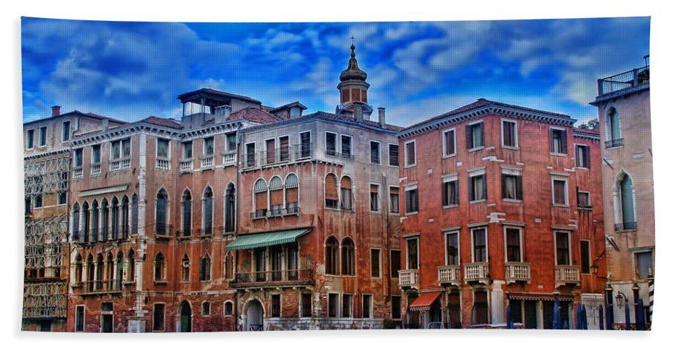 Italy Bath Sheet featuring the photograph Venezia by Ellen Heaverlo