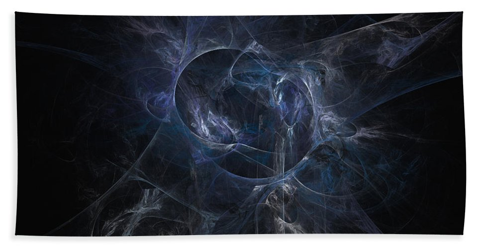 2-dimensional Hand Towel featuring the digital art Rhythm by Dana Haynes