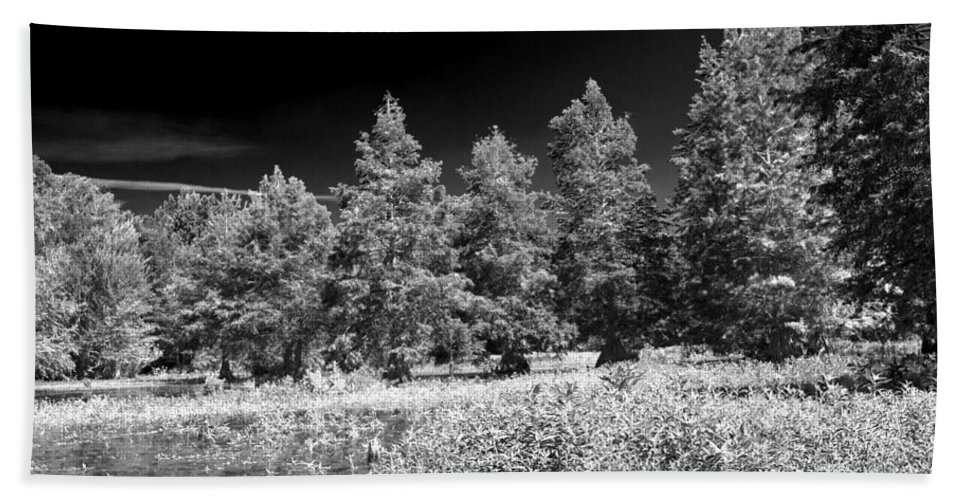 Vernon Lake Hand Towel featuring the photograph Vernon Lake Five by Ken Frischkorn