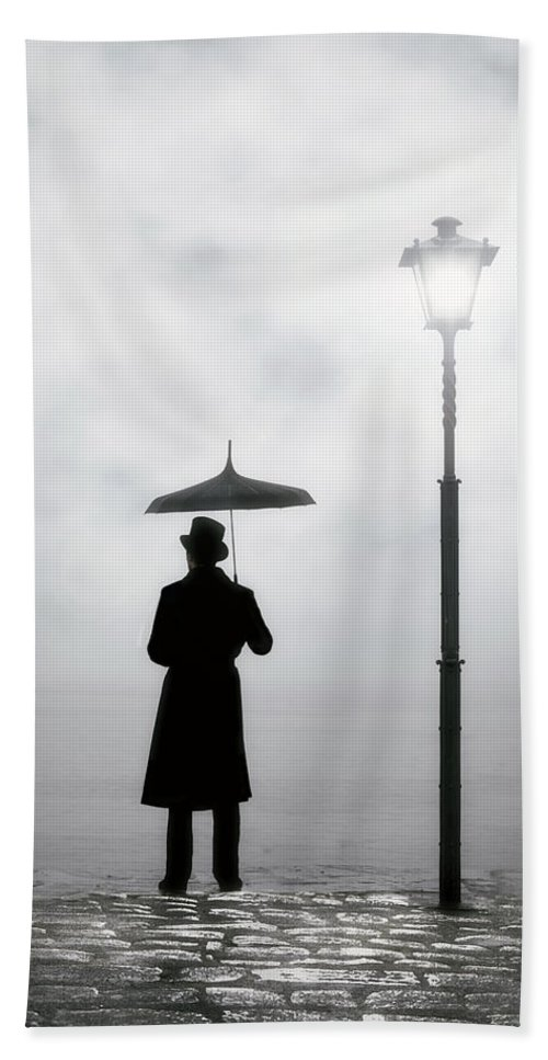 Man Bath Towel featuring the photograph Victorian Man by Joana Kruse